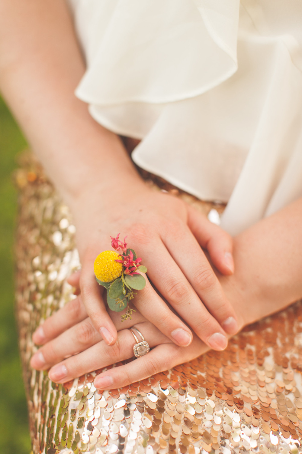 Floral ring by St. Charles Florist